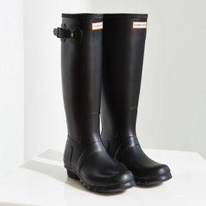 Hunter Original Tall Rain Boots EUC